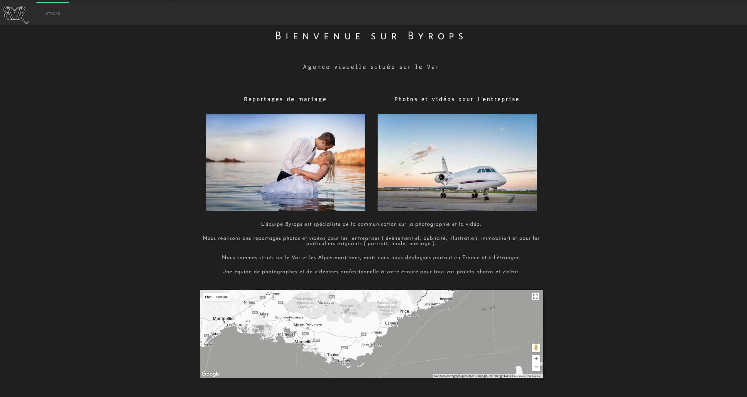 Création de site web Saint-raphael.